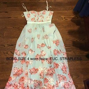 BCBG Max Azria Long Dress Sz 4